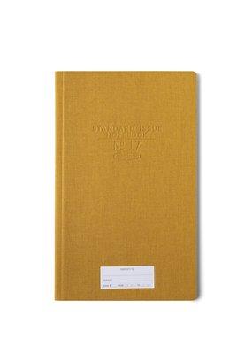 Designworks Ink Standard Issue Tall Notebook Ochre