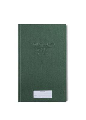 Designworks Ink Standard Issue Tall Notebook Green