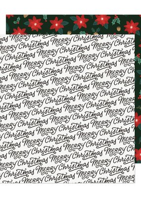 American Crafts 12 x 12 Decorative Paper Christmas Greetings
