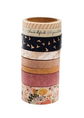 American Crafts Washi 8 Piece Set Peaceful Heart
