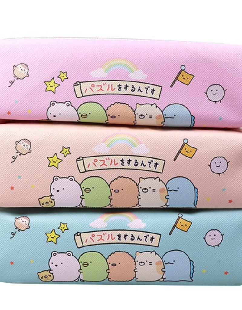 collage Kawaii Sumikko Gurashi Pencil Case