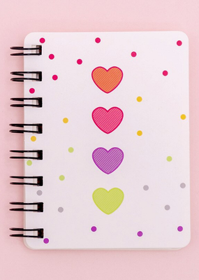 collage Mini Notebook Heart