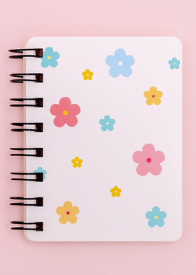 collage Mini Notebook Floral