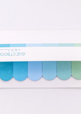 collage Sticky Notes Gradient Cool Colors