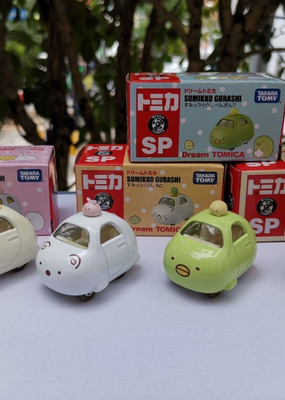 collage Sumikko Gurashi Toy Car