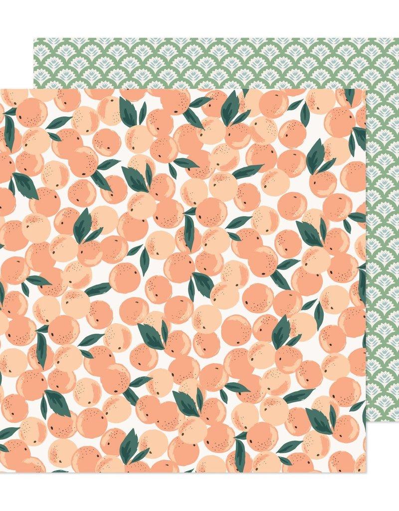 American Crafts 12 x 12 Decorative Paper Fresh Market
