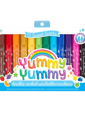 Ooly Yummy Yummy Scented Markers Set of 12