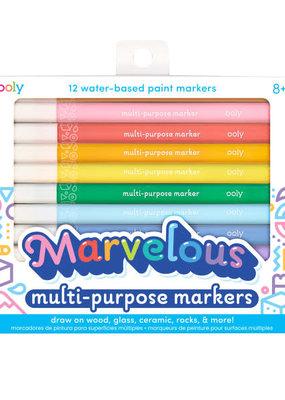 Ooly Marvelous Multi-Purpose Paint Marker Set