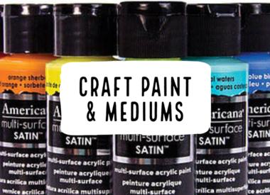 Craft Paint & Mediums