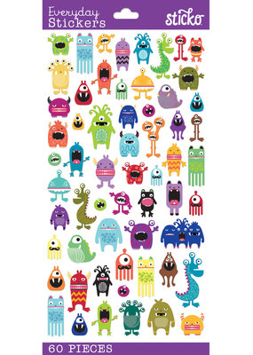 Sticko Stickers Mini Monsters