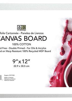Art Advantage Canvas Board 9 x 12