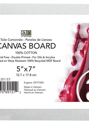 Art Advantage Canvas Board 5 x 7