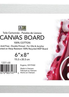 Art Advantage Canvas Board 6 x 8