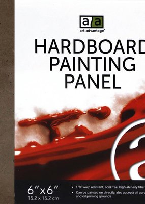 Art Advantage Hardboard Painting Panel 6 x 6