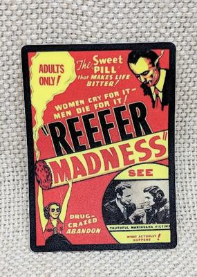 Iamsonotcool Sticker Marijuana Propaganda 1