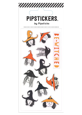 Pipsticks Sticker Be-Witched