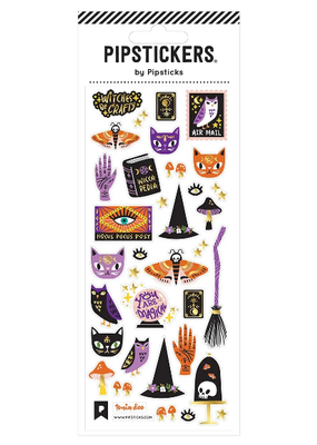 Pipsticks Sticker Witches Be Crafty