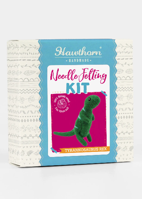 Hawthorn Handmade Needle Felting Kit T-Rex Mini