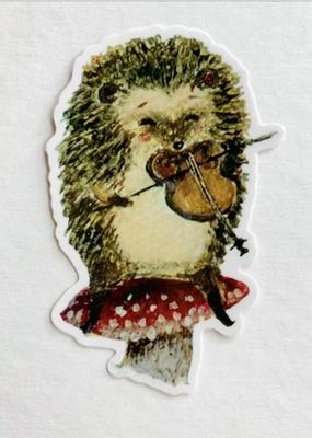 Jahna Vashti Sticker Hedgehog Violinist