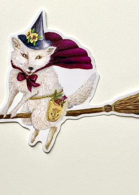 Jahna Vashti Sticker Moon Fox Magick