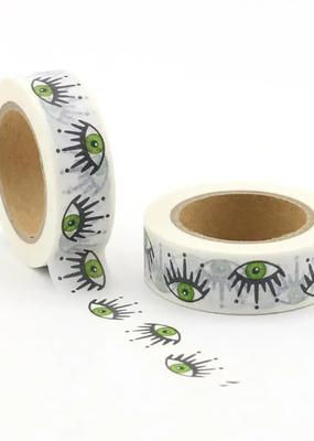 Washi Green Eyeballs
