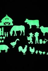 Gloplay Glow in the Dark Stickers On the Farm