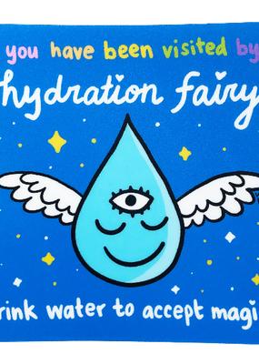 Wokeface Sticker Hydration Fairy