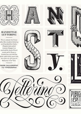 Gingko Press Hand Style Lettering