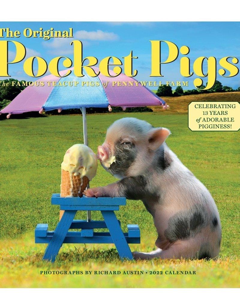 Workman 2022 Wall Calendar Original Pocket Pigs