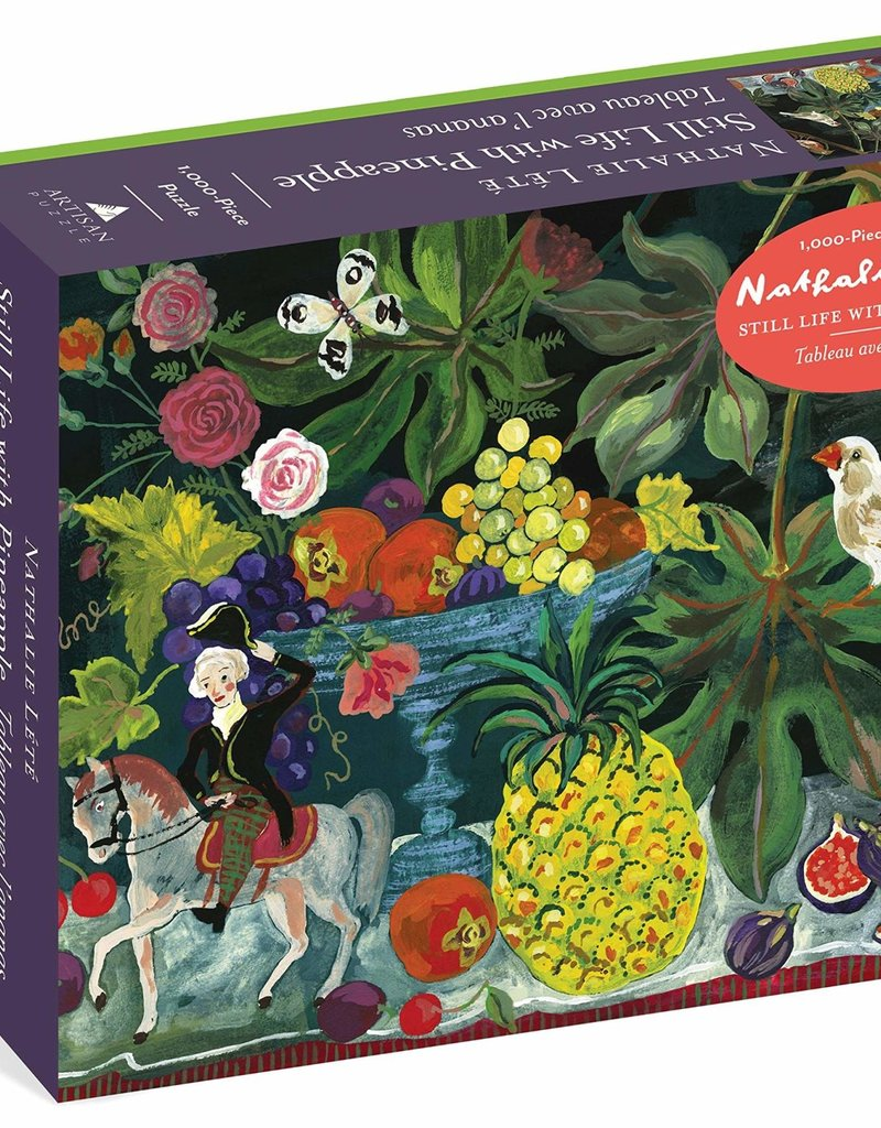 Workman 1000 Piece Puzzle Nathalie Lete Still Life with Pineapple