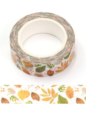 collage Washi Fall Leaves