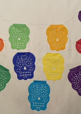 Buganvilla Imports Sugar Skull Papel Picado