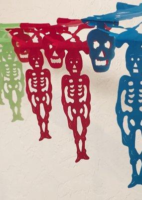 Buganvilla Imports Dangly Esqueletos Papel Picado