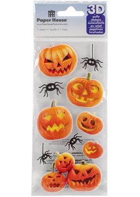 Paper House Stickers Jack O'Lanterns