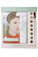 elle cree Paint By Number Kit Greta with Sparrow