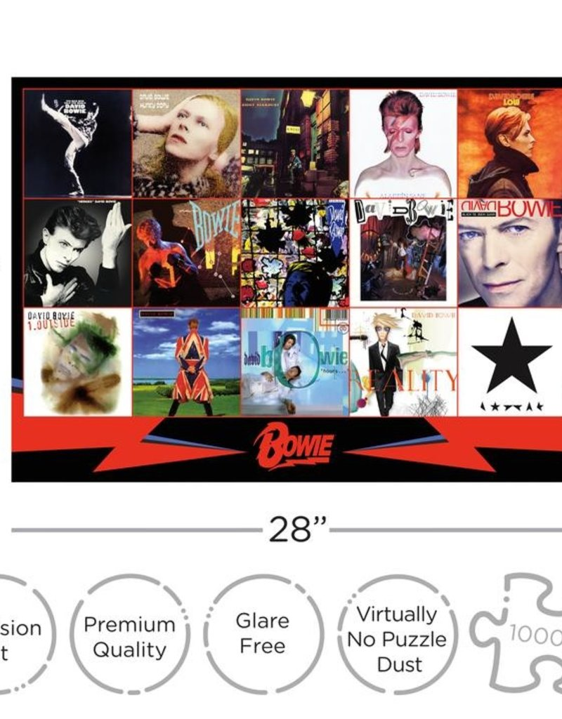 1000 Piece Puzzle David Bowie Albums