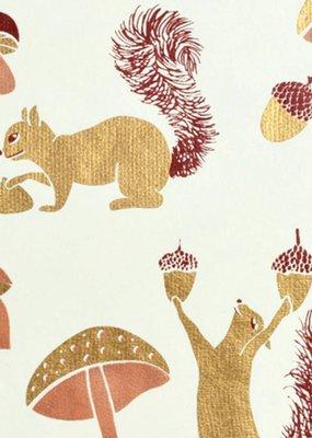 Midori Wrap Sheet Squirrel