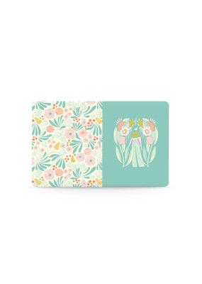 Denik Medium Layflat Notebook Garden Girl