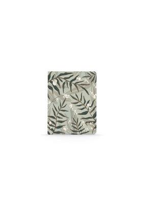 Denik Large Layflat Notebook Plant Pattern
