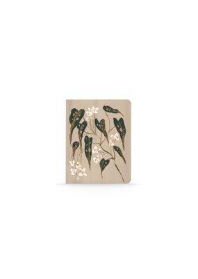 Denik Medium Layflat Notebook Begonia