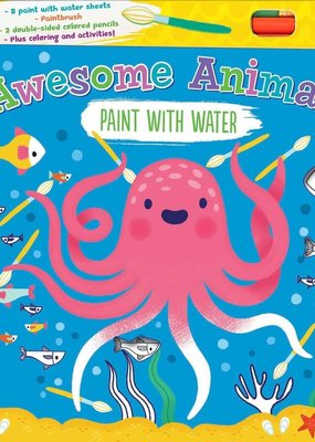 Simon & Schuster Awesome Animals Paint With Water