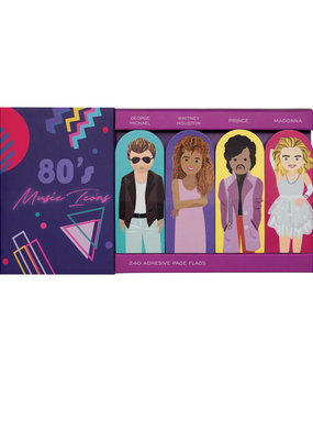 Girl of All Work Page Flags 80's Music Icons
