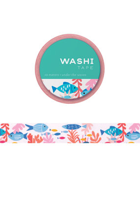 Girl of All Work Washi Under the Waves