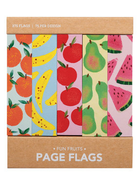 Girl of All Work Page Flags Fun Fruits