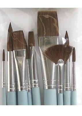 Art Alternatives Watercolor Brushes Set Of 10