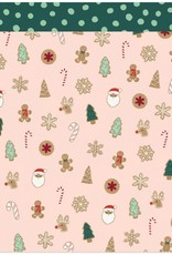 American Crafts 12 x 12 Decorative Paper Christmas Cookies