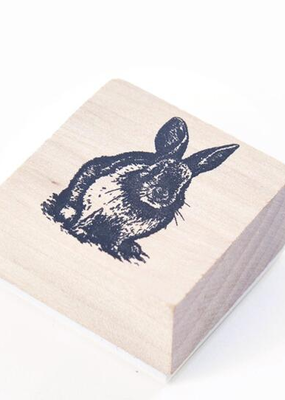 collage Stamp Bunny
