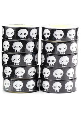 collage Washi Cartoon Skull