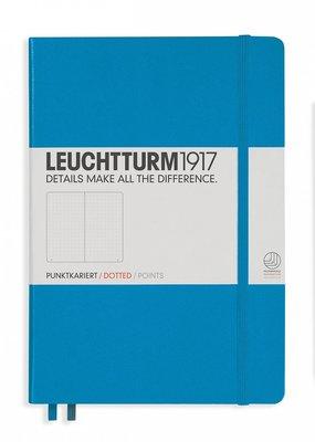 Leuchtturm Leuchtturm Medium  Hardcover Dotted Azure