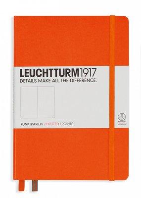 Leuchtturm Leuchtturm Medium  Hardcover Dotted Orange